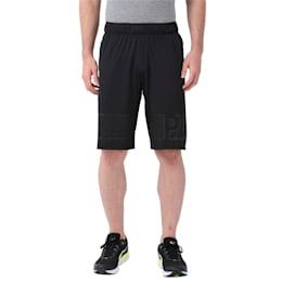 Active Training Men's Motion Flex Graphic Shorts, Puma Black-Puma Black, small-IND