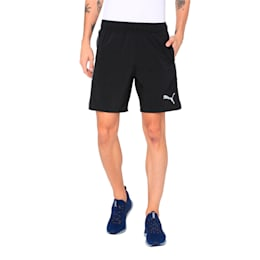 Training Men's Essential Woven Shorts, Puma Black-quiet shade, small-IND
