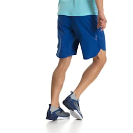 Running Men's Energy Shorts, Blue Depths, small-IND