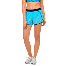 Running Women's Blast Shorts, Nrgy Turquoise-Blue Depths, small-IND