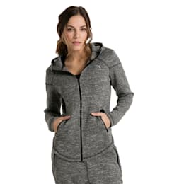 Active Training Women's Nocturnal Winterized Jacket, Dark Gray Heather, small-IND