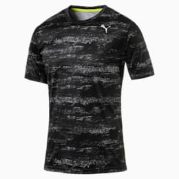 Running Men's Nocturnal T-Shirt, Puma Black, small-IND