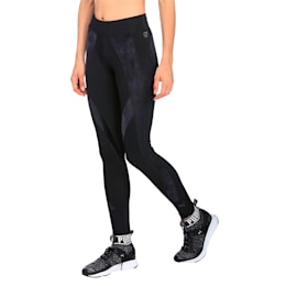 Active Training Women's Explosive Velvet Tights, Puma Black, small-IND