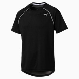 PWRRUN AdapThermo-R Men's Short Sleeve Running T-Shirt, Puma Black, small-IND