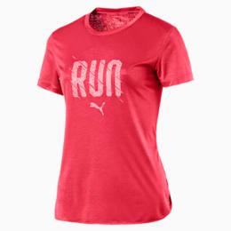 Run Short Sleeve Women's Running T-Shirt, Paradise Pink, small-IND
