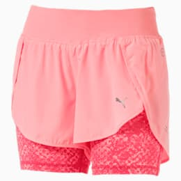 Blast 2-in-1 Women's Shorts, Soft Pch-Prdise Pnk Euphoria, small-IND