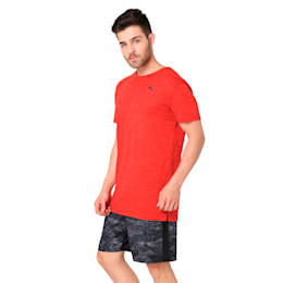 drirelease Graphic Men's Short Sleeve Training Tee, Flame Scarlet, small-IND