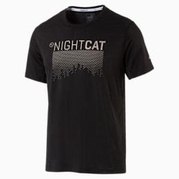 NightCat Men's Short Sleeve T-Shirt, Puma Black, small-IND