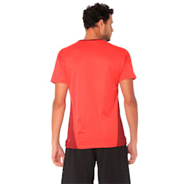 A.C.E. Short Sleeve Men's Training Top, Pomegranate-Ribbon Red, small-IND