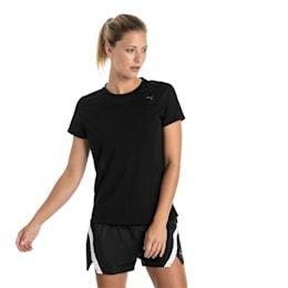 T-shirt de manga curta para mulher, Puma Black, small