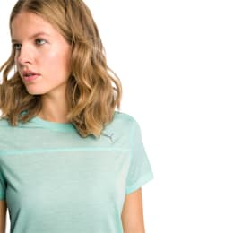 Women's Short Sleeve Tee, Fair Aqua, small