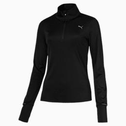 Ignite Half Zip Women's Running Pullover, Puma Black, small