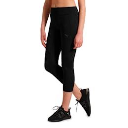 IGNITE 3/4 Women's Running Tights, Puma Black, small