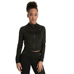 Explosive Cut-Out Women's Jacket, Puma Black, small-IND