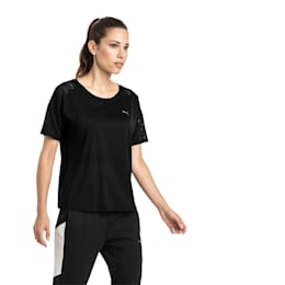 A.C.E. Mesh Blocked Women's Training Top, Puma Black, small-IND