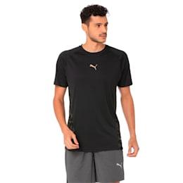 VENT Short Sleeve Men's Training Top, Puma Black-Q4, small-IND