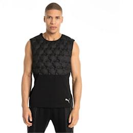 NeverRunBack Men's Protect Vest, Puma Black, small-IND