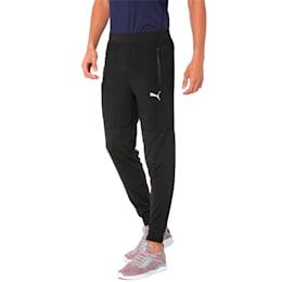 NeverRunBack Tapered Sweatpants, Puma Black, small-IND