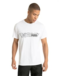 Energy Triblend Graphic Men's Running Tee, Puma White, small-IND