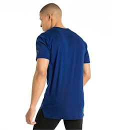 Energy Triblend Graphic Men's Running Tee, Sodalite Blue, small-IND