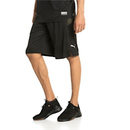 "Energy 11"" Men's Running Shorts, Puma Black-Forest Night, small-IND"