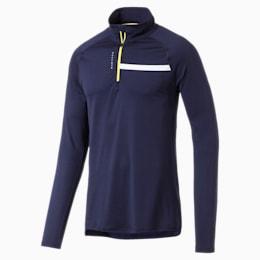 Running Herren IGNITE Half Zip Langarm-Shirt