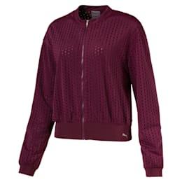 Luxe Zip-Up Women's Jacket