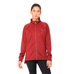 Training Women's Explosive Warm-Up Jacket, Pomegranate, small-IND