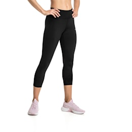 Always On Solid 3/4 Women's Tights, Puma Black, small-IND