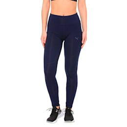 Always On Solid Women's 7/8 Training Leggings, Peacoat, small-IND