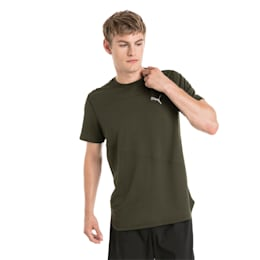 Running Men's IGNITE Mono T-Shirt, Forest Night, small-IND
