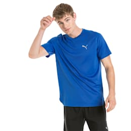 Running Men's IGNITE Mono T-Shirt, Strong Blue, small-IND