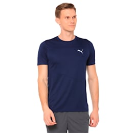 Running Men's IGNITE Mono T-Shirt, Peacoat, small-IND