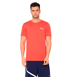Running Men's IGNITE Mono T-Shirt, High Risk Red, small-IND