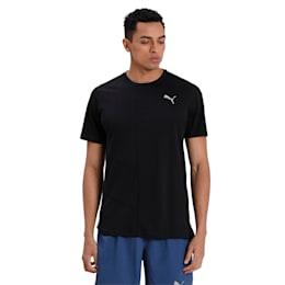 IGNITE Men's Running T-Shirt, Puma Black, small-IND