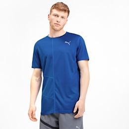 IGNITE Men's Running T-Shirt, Puma Royal, small