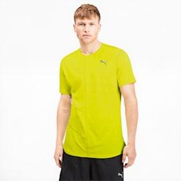 IGNITE Men's Running T-Shirt, Yellow Alert, small