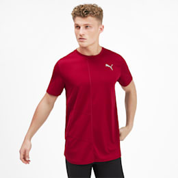 IGNITE Men's Running T-Shirt, Rhubarb, small