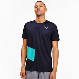 IGNITE Men's Running T-Shirt, Peacoat-Blue Turquoise, small