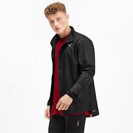 Track jacket Running IGNITE uomo, Puma Black-Puma Black, small