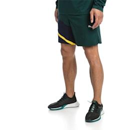 IGNITE Woven Men's Training Shorts, Ponderosa Pine-Peacoat, small