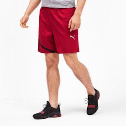 IGNITE Herren Gewebte Running Shorts, Rhubarb-Puma Black, small