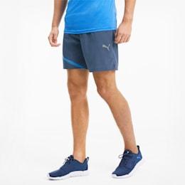 IGNITE Woven Men's Training Shorts, Dark Denim-Palace Blue, small