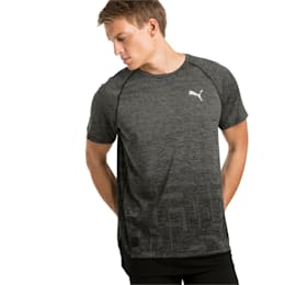 Energy Short Sleeve Tech Men's Training Tee, Puma Black, small-IND