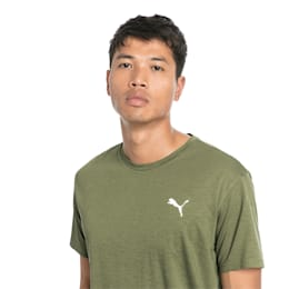 T-Shirt Energy Training pour homme, Olivine Heather, small
