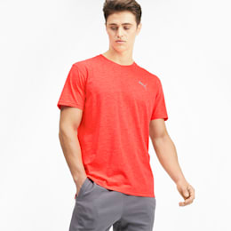 Energy Short Sleeve Men's Training Tee, Nrgy Red Heather, small