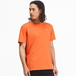 Energy Short Sleeve Men's Training Tee, Jaffa Orange Heather, small-IND