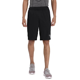 Energy Knitted Men's Training Shorts, Puma Black-Puma White, small-IND