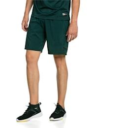 "A.C.E. Woven 9"" Men's Shorts, Ponderosa Pine, small-IND"