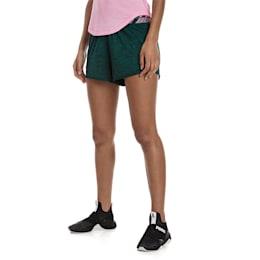 Own It Women's Training Shorts, Ponderosa Pine Heather, small